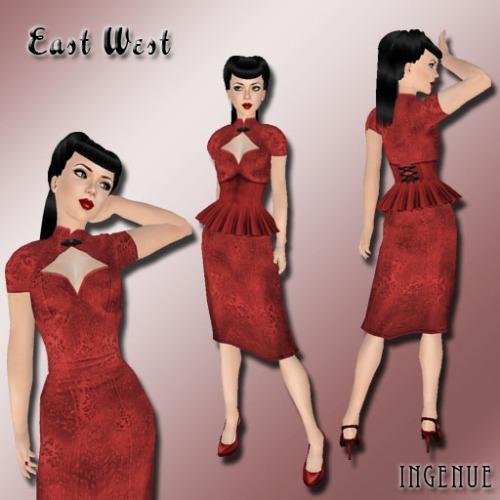 East West ~ Scarlet